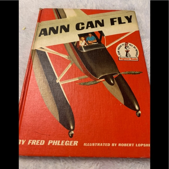 "1959 Hard Cover 1st ed ""Ann Can Fly"""